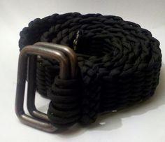 Custom Made Paracord Belt by PhaedrusParacord on Etsy.