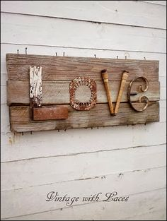 Love sign from Coastal Charm