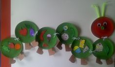 love this hungry caterpillar craft idea