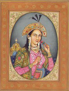 Mumtaz Mahal, beloved wife of Shah Jahan, who built the Taj Mahal as a memorial for her