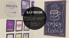 Burguesinhas - DIY DECOR – DECORANDO O QUARTO COM R$ 100,00 (PARTE 2 – PAREDE) - Burguesinhas