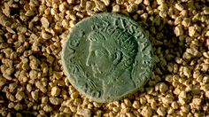 Coin bearing the image of Emperor Augustus - Avenches - Switzerland Emperor Augustus, Switzerland, Projects, Image, Log Projects