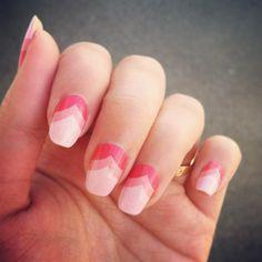 DUUET nail art diy nail stickers STRAWBERRY SUNRISE par DouxCraft