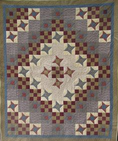 Stars Over Cedar Creek Quilt PDF Pattern From Quilt Doodle   Etsy