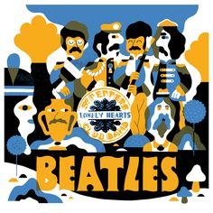 Sgt Pepper - Hedof 릭 버켈만스 : 네덜란드 브레다에서 1인 디자인 스튜디오를 운영하고 있다.