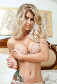 Blonde Russian Babe