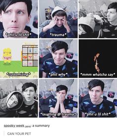 This made me want to laugh and cry at the same time like many Dan and Phil things