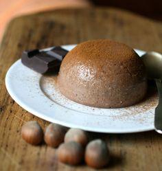 budino di miglio e cioccolato