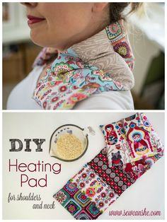 Wonderful Pics diy Sewing gifts Strategies DIY Heating Pad - for shoulders and neck — SewCanShe Christmas Sewing Projects, Diy Sewing Projects, Sewing Projects For Beginners, Sewing Hacks, Sewing Tutorials, Sewing Crafts, Sewing Tips, Diy Gifts Sewing, Christmas Sewing Gifts