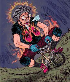Illustrations Fall 2011-Summer 2012 by Kyle Stecker, via Behance