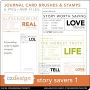 Story Savers No. 01 Brushes and Stamps