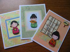 japanese dolls - hero arts