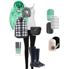 Into the North Jamberry Fall, Fall Nail Designs, J Crew, Topshop, Footwear, Shoe Bag, Billabong, Oasis, Polyvore
