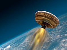 So Close! NASA Scrubs Flying Saucer Launch Again, Due to Weather