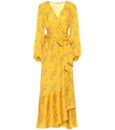 The Runway Edit - Fashion Trends at Mytheresa Cotton Shirt Dress, Poplin Dress, Alternative Mode, Alternative Fashion, Silk Satin Dress, Satin Dresses, Alexander Mcqueen, Wrap Dress Floral, Yellow Dress