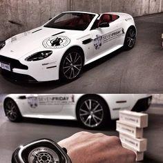 Đồng hồ SevenFriday và xe Aston Martin tại Canada