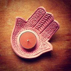 @denise.alice on Instagram: I'm quite proud of myself!  #diy #clay #hand #hamsa…