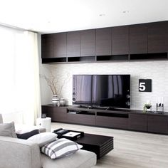 Inexpensive Home Decorating Ideas Interior Design Software, Modern Home Interior Design, Interior Design Living Room, Living Room Designs, Living Room Modern, Living Room Decor, Tv Wall Decor, Wardrobe Design Bedroom, Tv Unit Design