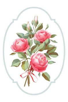 a bouquet of three roses Applique Templates Free, Flower Prints, Flower Art, Galaxy S8 Wallpaper, Bouquet Tattoo, Rose Trellis, Alcohol Ink Crafts, Floral Logo, Colorful Roses