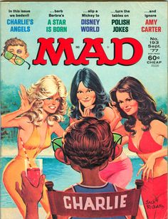 Mad is an American humor magazine founded by editor Harvey Kurtzman and publisher William Gaines in 1952. HistoryLaunched as a comic book before it became a magazine, it was widely imitated and influe