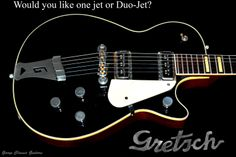 1954 #Gretsch #Duo-Jet with #DeArmond Pickups sounds just Fab!