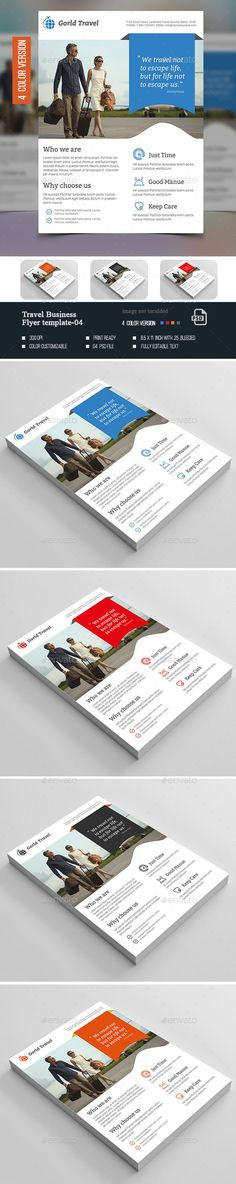 Travel Business Flyer -04 - Corporate Flyers