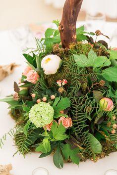 Whimsical Woodland Fairytale Wedding Flowers http://www.lisadawn.co.uk/
