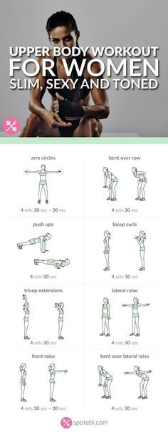 See more here ► https://www.youtube.com/watch?v=xctKmmiYuKo Tags: what to do to lose weight in a week, six week weight loss, weight loss 5 weeks - Get your arms, shoulders, back and chest ready for tank top season with this upper body workout. A 20 minute routine for a slim, sexy and toned upper body. http://www.spotebi.com/workout-routines/upper-body-workout-women-slim-sexy-toned/ #exercise #diet #workout #fitness #health
