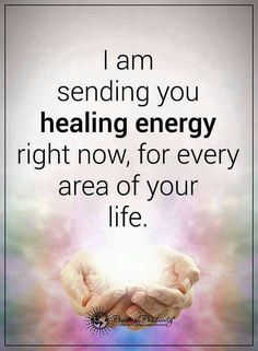Positive Healing Vibes Your Way...