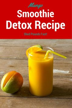 Healthy Smoothie Recipes: Mango Detox Smoothie Recipe - Cleanse Your Body