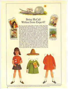 Betsy McCall writes from Expo 67....August 1967