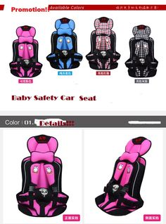 Car Covers Baby Safety Seat,Portable Baby Safety Seats,Infant Car seats baby seats/Chair  for Child  0-4 , $21.48
