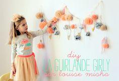 Diy : la guirlande girly