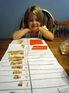 Adventures at the Kitchen Table: Introducing Place Value - Tens and Ones (pt 2)