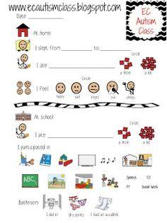 Daily Parent Communication Notebooks