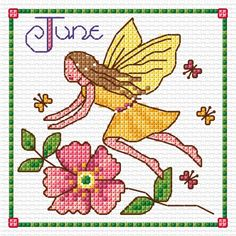 JUNE Fairy | Lesley Teare Thoughts on Design