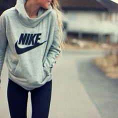 52 Best Ideas Sport Outfit For Teens Nike Christmas Gifts Look Fashion, Teen Fashion, Winter Fashion, Fashion Trends, Nike Fashion, Fashion Styles, Cheap Fashion, Fashion Outfits, Fashion Women