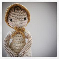 Elizabeth Bennet.  Crochet doll by { Amour Fou }