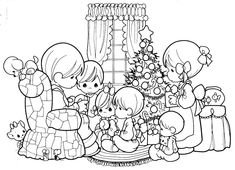 Christmas – free precious moments coloring pages | Coloring Pages