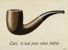 René Magritte, The Treachery of Images, oil on canvas, × cm, Los Angeles County Museum of Art. Source This painting by Belgian Surrealist René Magritte has become a bit of an. Rene Magritte, Modern Art, Contemporary Art, Banksy, 404 Pages, Centre Pompidou, Caravaggio, Conceptual Art, Les Oeuvres