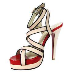 Christian Louboutin Straratata Platform Sandals Sand $125.93