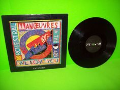 Orchestral Manoeuvres In The Dark We Love You (Extended) Vinyl 12