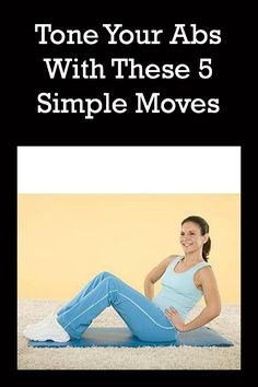 Tone your tummy with these 5 simple ab exercises!