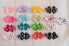 Stylish Small Bowtique Bow Clip $1.99 #shimmyshimmybowtique