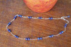 Lapis Lazuli, Beaded Necklace, Elegant, Stuff To Buy, Jewelry, Beaded Collar, Classy, Jewlery, Pearl Necklace