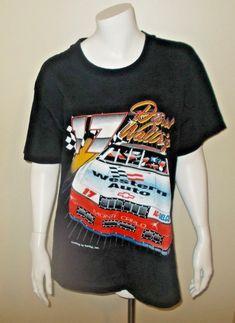 c56684de Vintage Darrell Waltrip 1995 Western Auto NASCAR Winston Cup Racing T Shirt  Sz L Nascar,