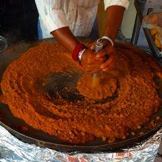 12 Must-Eat Street Foods in India Pav Bhaji, Jodhpur, Street Food, Travel Guides, India, Foods, Eat, Ethnic Recipes, Food Food