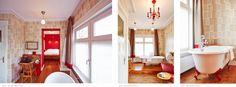 Kamer 'Bad & Boek' - Villa Pastorie 100 Euro, Alcove, Holland, Hotels, Bathtub, Bathroom, Villa, The Nederlands, Standing Bath