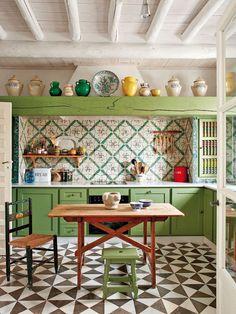 Как использовать цвет на кухне - Yuterra Colors