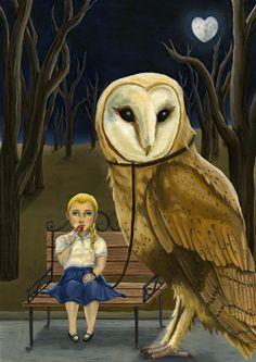 'Pet Owl' by Hannah Agosta